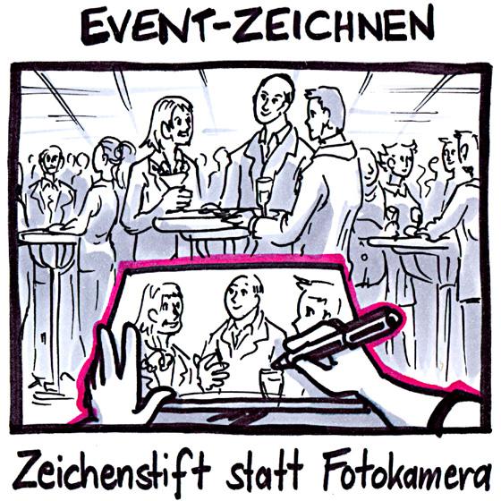zum Event Zeichnen