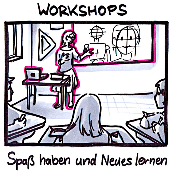zu den Workshops